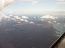 Aerial View of Galapagos