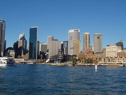 Beautiful view of Sydney