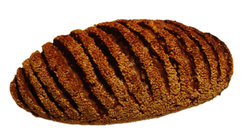 brown bread loaf