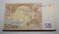 European currency note