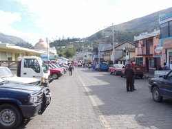 hilly market place
