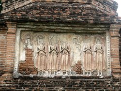 Interesting frontwall of the monastery