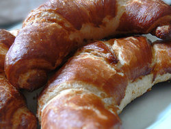 lye croissants for breakfast