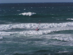 More intrepid windsurfing