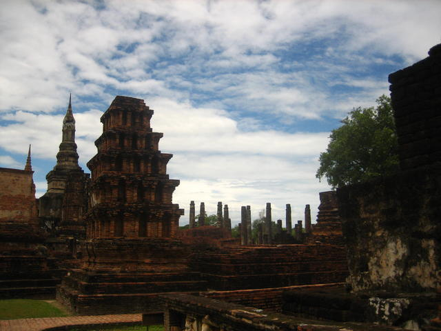old thai temples - free image