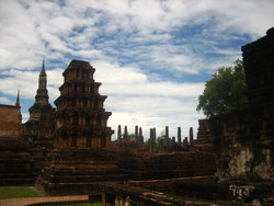 old thai temples