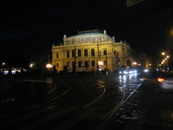 Opera at night