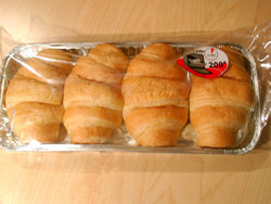packed croissants