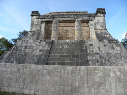 ruins on Yucatán Peninsula