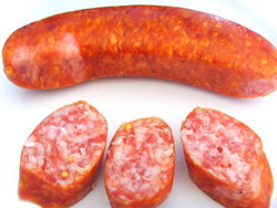 smoked sausage raw