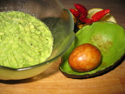 spicy avocado cream