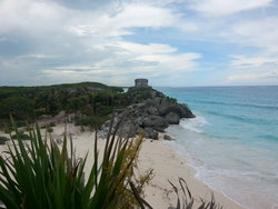 tulum sea shore