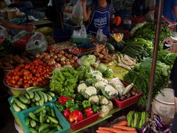 Vegetable shop