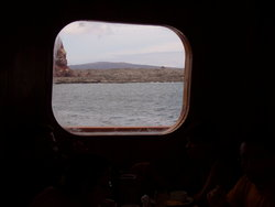 window in a ship