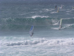Windsurf evening
